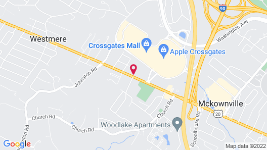Tru By Hilton Albany Crossgates Mall Map