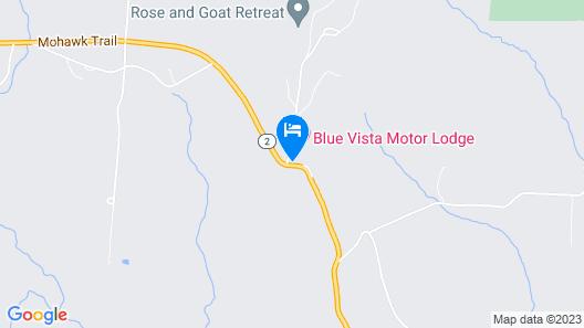 Whitcomb Summit Retreat Map