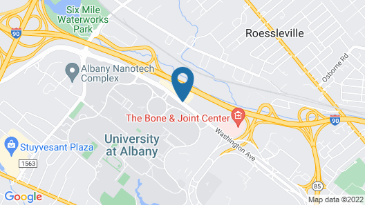 CrestHill Suites SUNY University Albany Map
