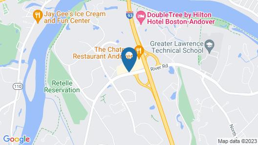 La Quinta Inn & Suites by Wyndham Boston-Andover Map