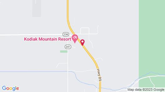Kodiak Mountain Resort Map