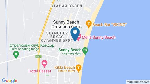 Meliá Sunny Beach Resort Map