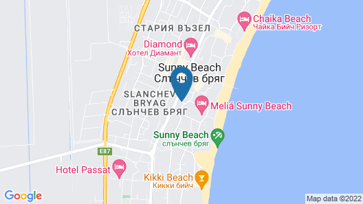 Best Western Plus Premium Inn Map