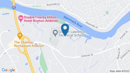 Homewood Suites by Hilton Boston / Andover Map