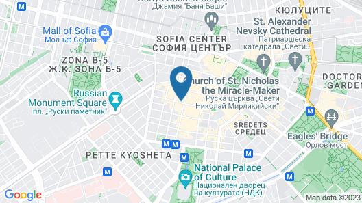 Rosslyn Thracia Hotel Map