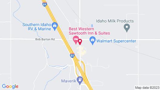 Best Western Sawtooth Inn & Suites Map
