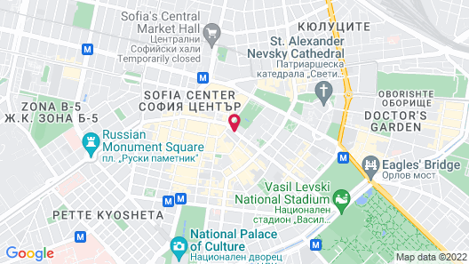 Grand Hotel Sofia Map