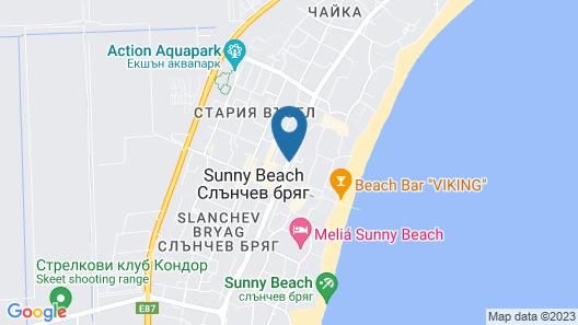 Diamond Hotel-All inclusive Map