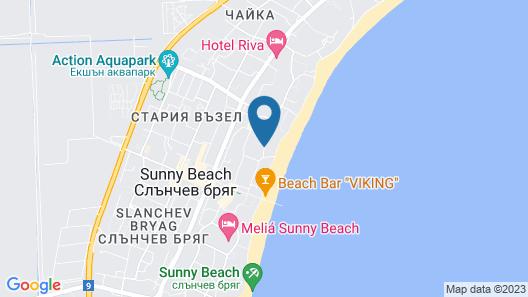 MPM Hotel Astoria - Ultra All Inclusive Map