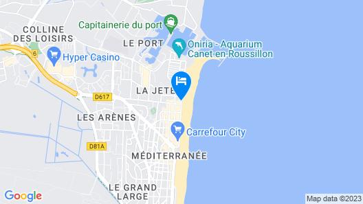 Hôtel Saint-Georges, face à la mer Map