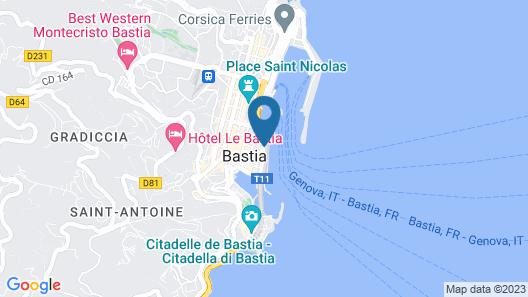 Hôtel Posta Vecchia Map