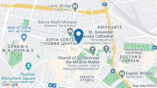 Arte Hotel Map