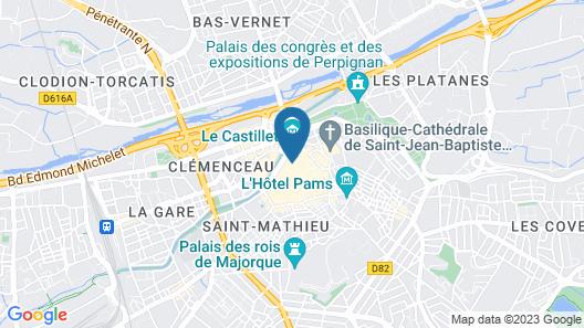 Hôtel De La Loge Map