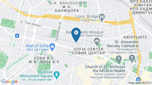 Galiani GuestRooms Map