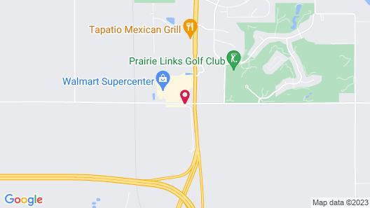 Quality Inn Waverly Map
