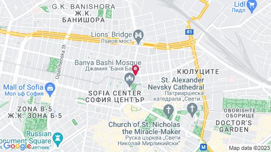 Sofia Life Apartments Map