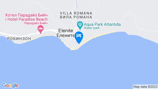 Atrium Beach Hotel - All Inclusive Map