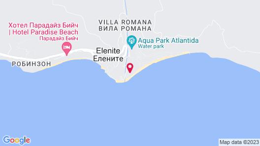 Menada Andalusia Apartments Map