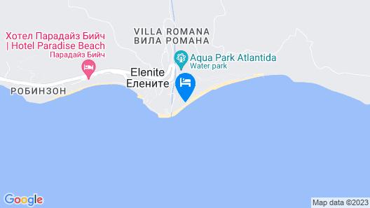 Andalucia Beach Hotel - All Inclusive Map