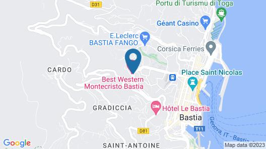 Best Western Montecristo Map