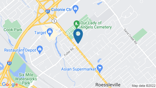 SpringHill Suites by Marriott Albany-Colonie Map