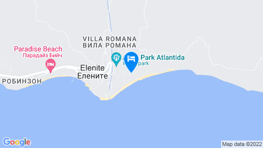 Royal Villas Elenite - All Inclusive Map
