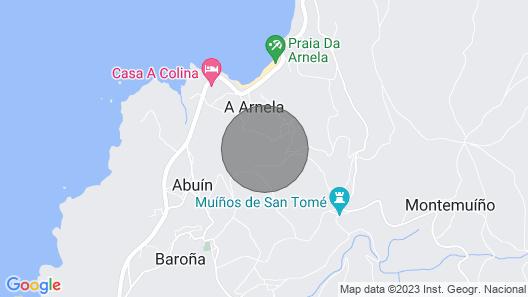 Porto Do Son: House / Villa - Porto Do Son, Galicia Spain Map