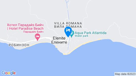 Menada Villa Astoria Map