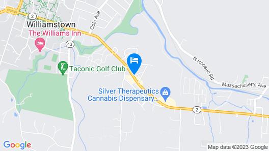 Fairfield Inn & Suites by Marriott Williamstown Map