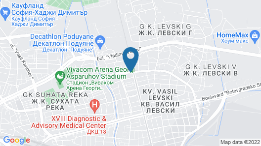 Avel Guesthouse Map
