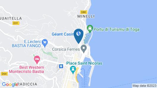 Hôtel Port Toga Map