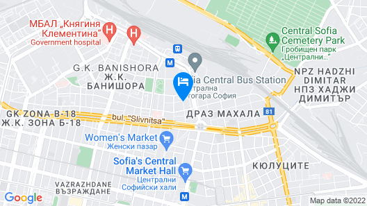 Hotel Cheap Map