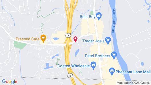 Motel 6 Nashua, NH - South Map