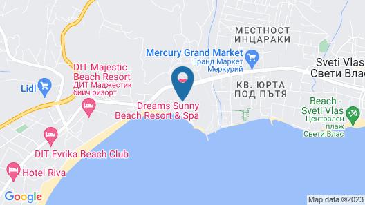 Riu Helios Paradise Map