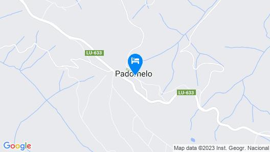 Hostal Santa María Do Poio Map