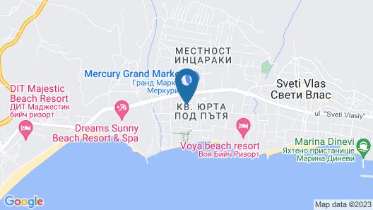 Apartkomplex Sorrento Sole Mare Map