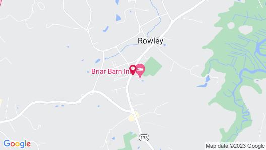 Briar Barn Inn Map