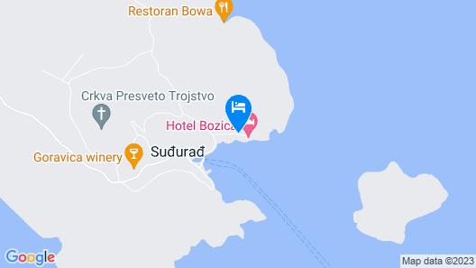 Hotel Bozica Map