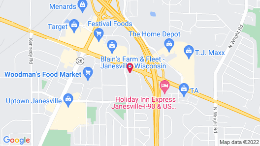 TownePlace Suites by Marriott Janesville Map
