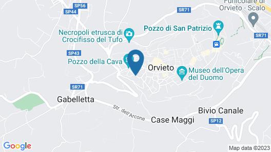 Palazzo Piccolomini Map