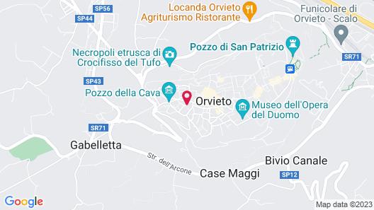 Orvieto Templari Suite Map