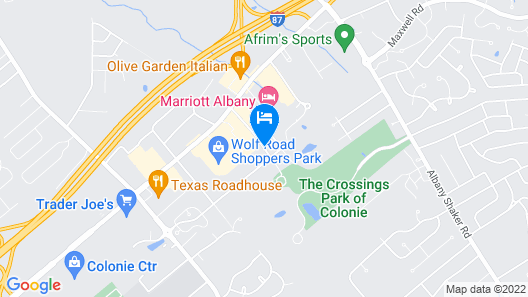 Home2 Suites by Hilton Albany Airport/Wolf Rd Map
