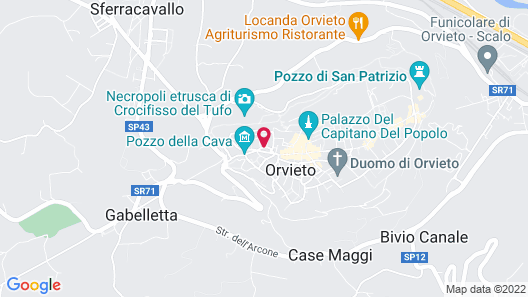 Bed and Breakfast Sant'Andrea Map