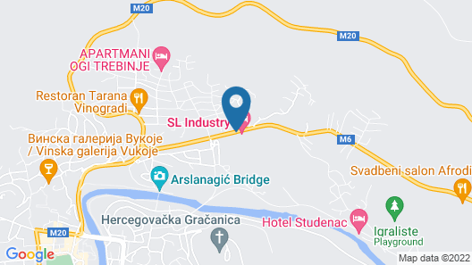 SL Industry Hotel Map