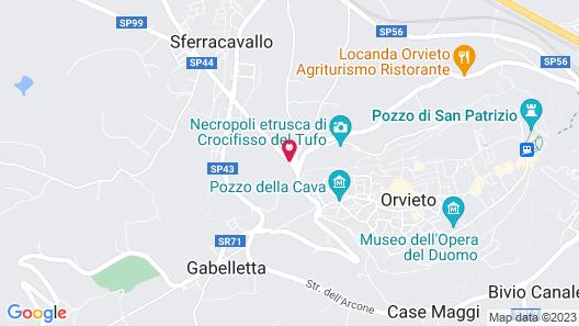 B&B Chiara e Benedetta (La villa degli Ulivi) Map