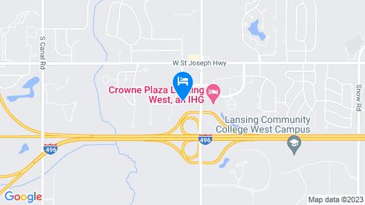 Country Inn & Suites by Radisson, Lansing, MI Map