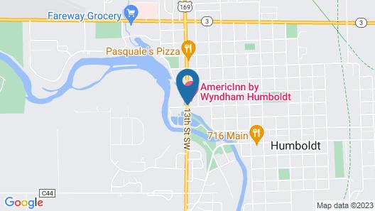 AmericInn by Wyndham Humboldt Map