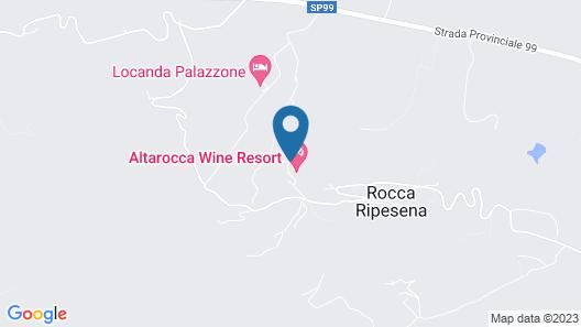 Altarocca Wine Resort Map