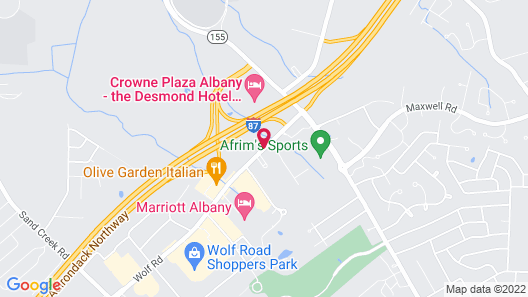 Homewood Suites by Hilton Albany Map