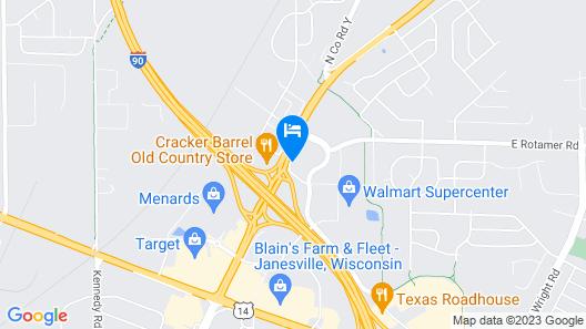 AmericInn by Wyndham Janesville Map